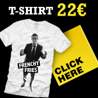 Tee-shirt Frenchyfries